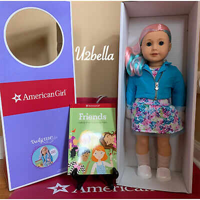 American Girl Doll Truly Me 88 Blue Eyes,Pastel Multicolor Hair, Light Skin NEW
