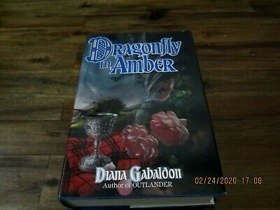Dragonfly in Amber by Diana Gabaldon Signed 1st/5th  HC/DJ