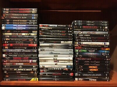 Horror movies. PICK and CHOOSE 209 Scary dvd lot--Buy Multiples and SAVE!