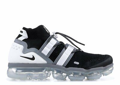 Nike Air Vapormax FK Utility Black Size 11 White & Black (NEW)
