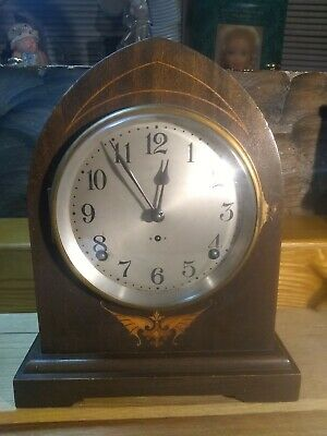 Antique Seth Thomas #89AL 8 Day Striking Beehive/Gothic Mantle Clock With...