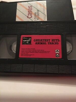Greatest Hits Animal Tracks VHS