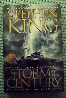 STORM OF THE CENTURY Stephen King                                          12609