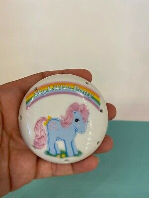 Vintage 80s - My Little Pony G1 - Ceramic / China Draw Freshener