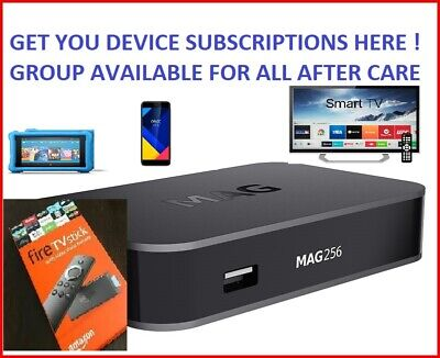 IPTV - Mag boxes/ Firesticks / Apple/Android / Smart TV ☆MESSAGE FOR FREE TRIAL☆