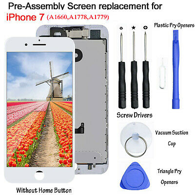 """For iPhone 7 4.7"""" Touch Screen Replacement LCD Display Digitizer Assembly Camera"""