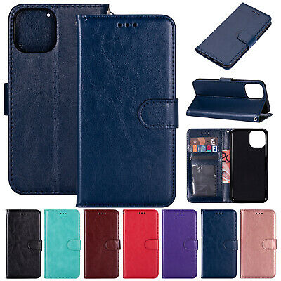 For iPhone 11 Pro Max XS XR 8 Plus 7 6s Case Leather Wallet Flip Card Slot Cover