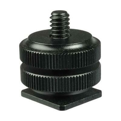 """Hot Shoe to 1/4""""-20 Male Post Adapter"""