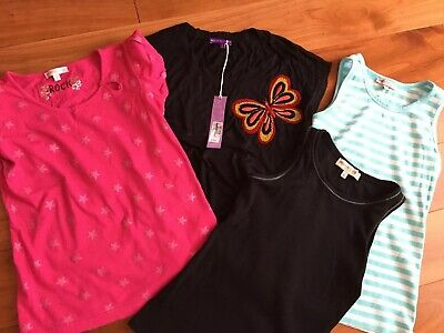 Girls Tops Bundle Age 10 New Or Excellent Condition  Marks & Spencer