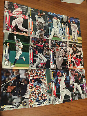 2020 Topps Baseball Series 1 - Base, Rookie RC (You Pick your card) 1-250 MLB