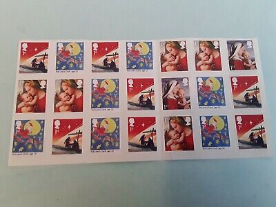 21 x1st Class  Christmas  stamps PRISTINE Self Adhesive Postage First Stamps lot