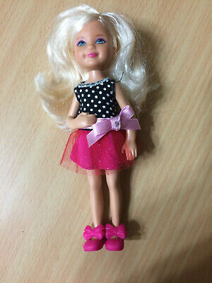 Barbie Little Sister Chelsea Dressed Doll Love Disney Dress Shoes Outfit Rare