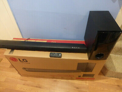 Lg Sh2 2:1 Home Cinema Soundbar With Subwoofer 100W For Lcd Tv Led Tv Dvd Ps4