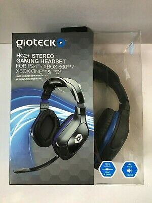 Gioteck HC2+ Stereo Gaming Headset (PS4