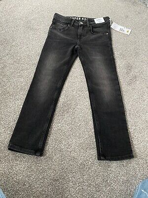 Black Skinny Jeans Boys H&M Age 8-9 New