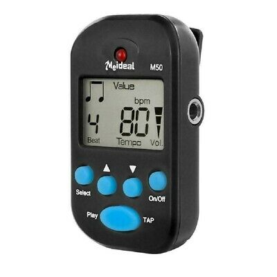 Mini Portable Clip On Digital Metronome With LCD For Guitar Piano Drum Or Violin