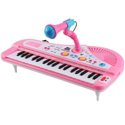 37 Key Kids Electronic Keyboard Piano Musical Toy with Microphone for