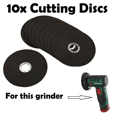 10x Replacement Discs Blades for Lidl Parkside 12v Cordless Battery Grinder Disk