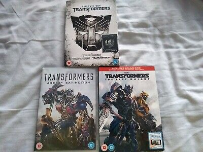 Transformers 5 Movie dvd collection in good condition