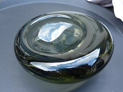 Vintage glass bowl by Per Lütken