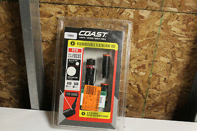 1965 Coast 20627 PX1R Rechargeable Flashlight Kit