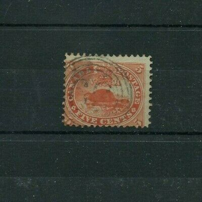 #15 with 4 RING #39 St. John, NB cancel 5 cent Beaver Canada used