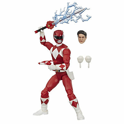 Power Rangers Lightning Collection 6-Inch Mighty Morphin Red Ranger Collectible