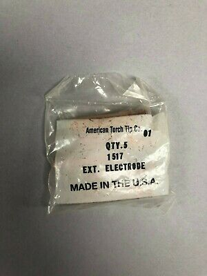 American Torch Tip Electrode Part #1517 Pack of 5