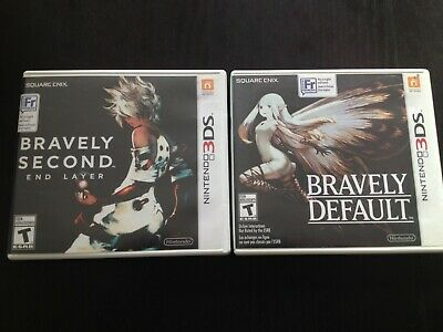 Bravely Default / Bravely Second (Nintendo 3DS Games) You Pick!