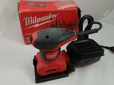 Milwaukee 44-66-5905 1//4 Sheet Palm Sander Replacement Paper Punch