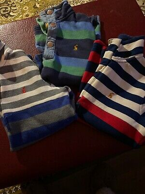 Boys Joules Striped Jumper Bundle 3 Jumpers Age 8 Years