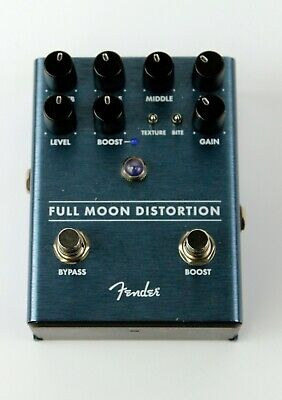 Fender Full Moon Distortion Pedal, Ex #CHNF18013062