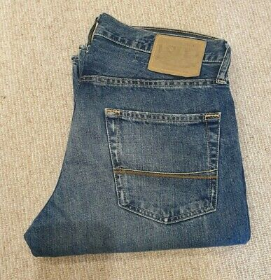 """ABERCROMBIE & FITCH Baxter Low Rise Boot Jeans Men  30/32"""""""