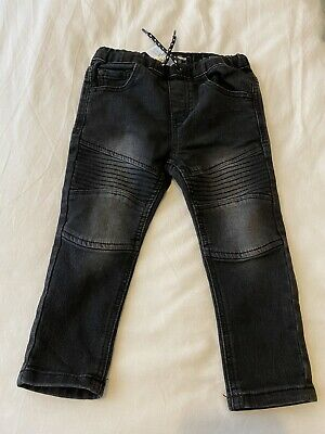Baby Boys Black Slim Fit Jeans. From Next. Age 18-24 Months