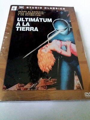 "Dvd ""Ultimatum A La Tierra"" Precintado Sealed Con Funda Carton Robert Wise"