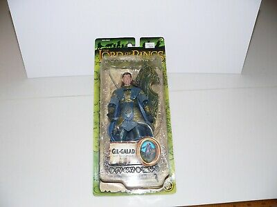 THE LORD OF THE RINGS FELLOWSHIP GIL GALAD ACTION FIGURE WITH SPEAR ATTACK