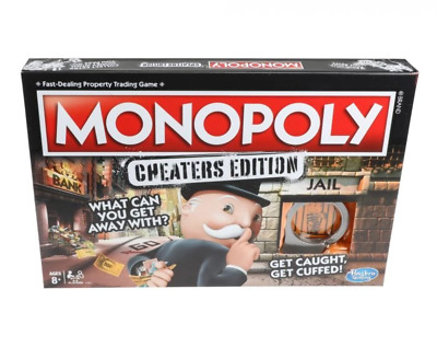 Monopoly - Cheaters Edition Board Game