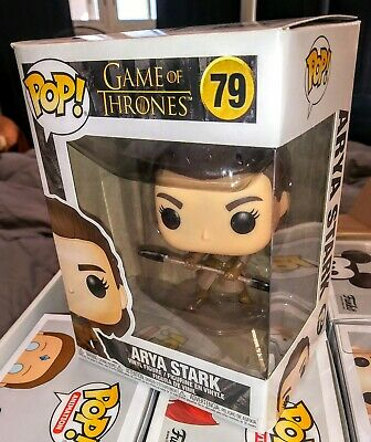 Funko Pop Arya Stark Two Headed Spear Season 8 Game of Thrones #79