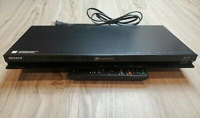 Sony BDP-S470 3D Blu-Ray Player With Remote BATTERIES