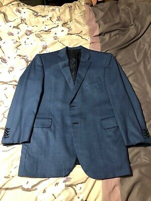 Royal Blue Oxxford Suit 40R  Escorial