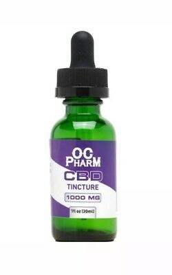 Isolate Tincture - 1000mg Sleep Relief, Anxiety, Pain Relief