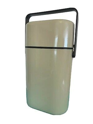Decor Australia 2 Bottle BYO Insulated Wine Cooler Carrier Beige Retro Vintage