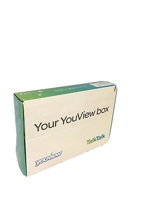 TalkTalk YouView Set Top Box Freeview Huawei DN360T Remote Cables Power