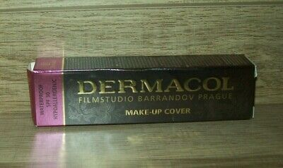 Dermacol High Cover Makeup Foundation Authentic Waterproof Hypoallergenic SPF-30