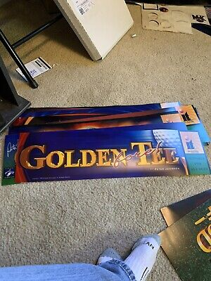 Golden Tee Fore Arcade Marquee