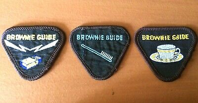 New Zealand Girl Guides Brownie Guide Cloth Patches