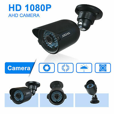 4x Security Cameras Outdoor Infrared Day Night Vision CCTV Home Surveillance m4x
