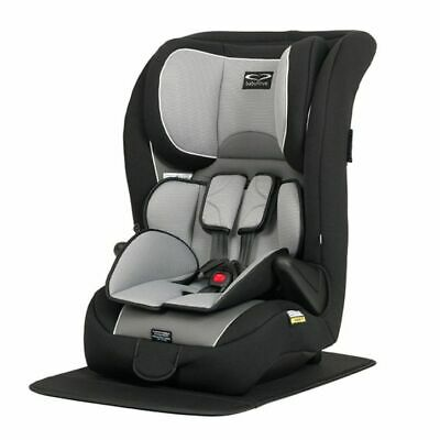 NEW Babylove Ezy Grow EP Harnessed Car Seat - Silver | Baby Online Direct