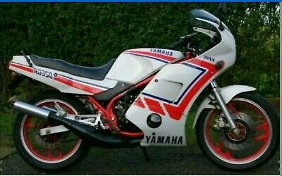 YAMAHA RD350LC RD250LC PAINTWORK RESTORATION DECAL SET