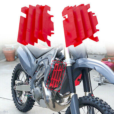 Polisport Radiator Louvers 2004 CR Red for Honda CRF450R 2009-2012